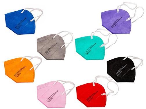 FFP2 Schutzmaske (zertifiziert), farbig