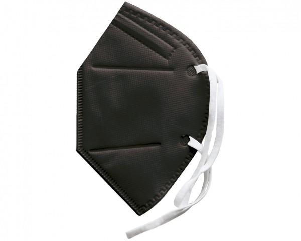 FFP2 Schutzmaske (zertifiziert) schwarz