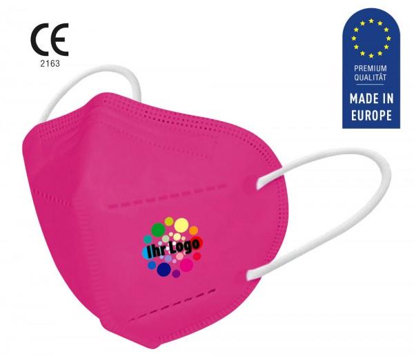 FFP2 Logo Maske - pink