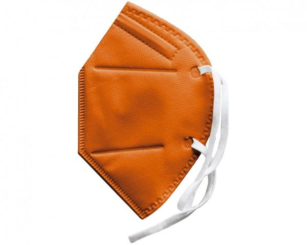 FFP2 Schutzmaske (zertifiziert) orange