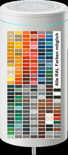Corvex Air 1 Premium UVC Luftentkeimer, aus Edelstahl, alle RAL Farben möglich