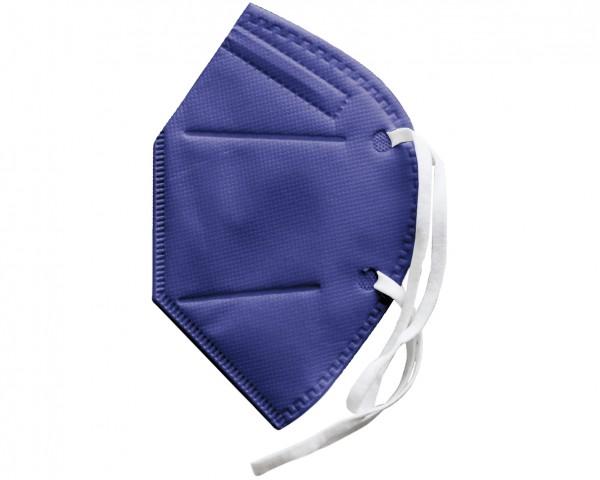 FFP2 Schutzmaske (zertifiziert) lila