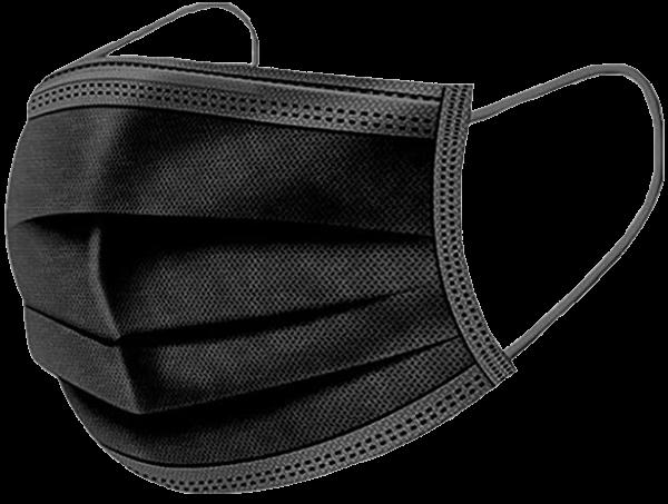 Mund-Nasen-Maske,TypII R, schwarz