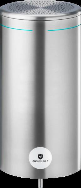 Corvex Air 1 Premium UVC Luftentkeimer, aus Edelstahl, gebürstet und lackiert