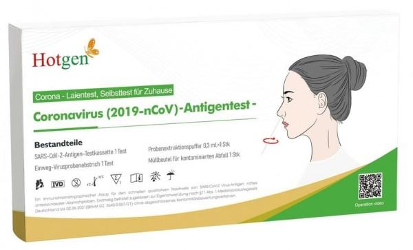 HOTGEN Covid-19 Antigen-Selbsttest/Laientest (vord. Nase)